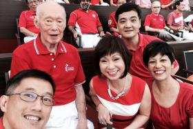 Minister of State for Trade and Industry Teo Ser Luck, together with many other ministers, have paid tribute to Mr Lee Kuan Yew on social media.