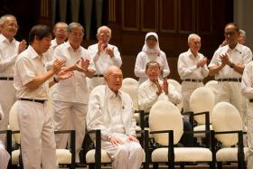 Chairman of PAP Central Executive Committee Khaw Boon Wan: As we mourn (Mr Lee Kuan Yew's) passing, let's also re-dedicate ourselves to building on his legacy.