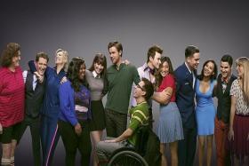 GLUM: Glee comes to an end, sadly.