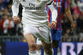 Real Madrid forward Gareth Bale clocked 36.9kmh which is faster than teammate Ronaldo