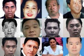 Singaporeans on Interpol's wanted list.