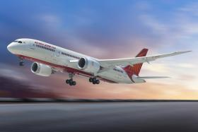 File photo of an Air India plane.