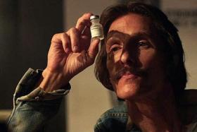 POPULAR: Dallas Buyers Club is a biographical film starring Matthew McConaughey.