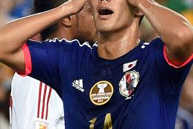 Yoshinori Muto is Japan's latest rising star and has scored 13 goals in his rookie year last term