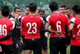 KEEP IT GOING: LionsXII coach Fandi Ahmad wants his side to be consistent.