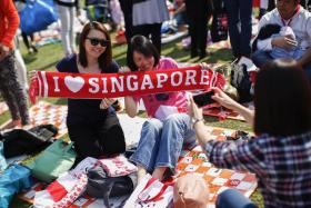 Around 5,000 Singaporeans turned up to celebrate Singapore Day in Shanghai.