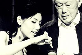 Sharon Au will portray Mr Lee Kuan Yew's wife Madam Kwa Geoh Choo in The LKY Musical.
