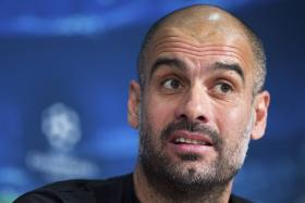 Pep Guardiola wore a T-shirt which had a message demanding  justice for a journalist who died at last summer's World Cup