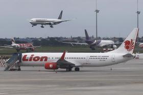 File photo of a Lion Air plane