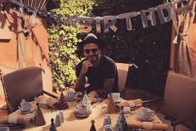David Beckham celebrated his 40th birthday in style at Marrakech, Morocco.