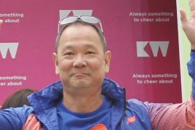"""""""I think it is possible. The 75-gold target definitely looks promising."""" - Ang Peng Siong on The New Paper's gold-medal prediction for hosts Singapore"""