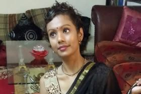 DANCER: Miss Shoba Rosy, (above) who is deaf, will be dancing in Tamil variety show MGR The Legend II in August.
