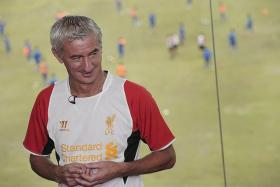 TALENT NOT ENOUGH: Ian Rush believe that the Reds' league position is a reflection of the talent that Brendan Rodgers has.