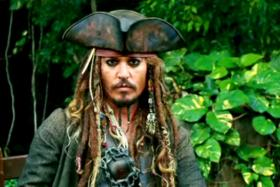 """Johnny Depp is in Australia to film """"Pirates of the Caribbean: Dead Men Tell No Tales"""". He flew his two dogs into the country illegally."""