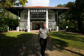 Singapore Botanic Gardens director Nigel Taylor