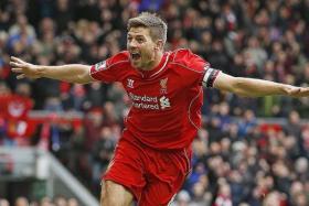 Steven Gerrard (above).