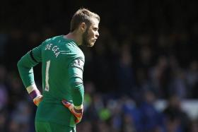 SAFE HANDS: David de Gea has kept United in the top four for much of this season.