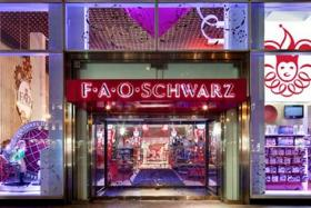 The entrance of the FAO Schwarz flagship store in New York City.