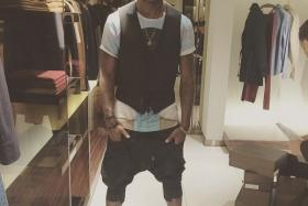 Mario Balotelli might not have had much success on the field for Liverpool, but the Italian striker has been having a ball online showing off his clothes shopping.