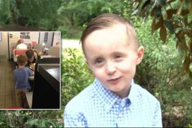 5-year-old Josiah Duncan saw that a homeless man needed help and did what he could to aid him.