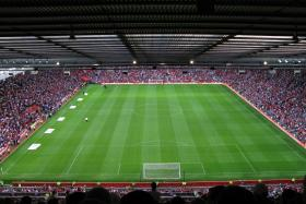 Old Trafford has a capacity of 75,635.