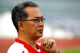 """""""I won't lie to you. I don't like that record one bit. I don't really want to talk about it, actually. But I'll tell you one thing. When my boys get out at Bukit Jalil, that's all going to change."""" - Kelantan coach Azraai Khor Abdullah (above) on his record of just one win in eight matches against the LionsXII"""