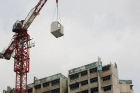 DEATH: A Chinese worker, Mr Liu Debao, fell 19 storeys to his death after being struck by a prefabricated structure hanging from a crane at a Sengkang construction site in January last year.