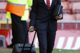 Raheen Sterling before Steven Gerrard's last match with Liverpool