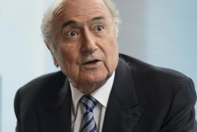 CANDIDATES: Fifa president Sepp Blatter (above) and Jordanian Prince Ali al-Hussein who is a Fifa vice-president.