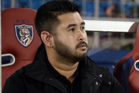 """""""LionsXII not only played against the best Malaysian team with the support of 4 foreign players, but also against the referee and the system, which is the FAM."""" - Johor Crown Prince Tunku Ismail Idris (above)"""