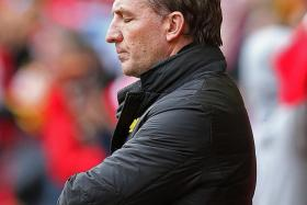 UNDER FIRE: Brendan Rodgers finds himself under tremendous pressure after losing 6-1 to Stoke on Sunday.