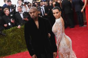 Kim Kardashian announced her second pregnancy in a teaser on her reality show, Keeping Up with the Kardashians.