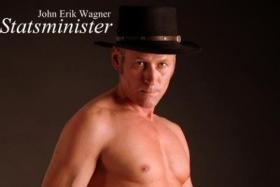 He wants to be Prime Minister and he wants you to see his birthday suit.
