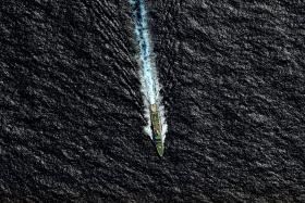 File photo of a vessel involved in the search for missing Malaysia Airlines MH370 jet.