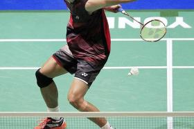 NATIONAL HERO: Taufik Hidayat is considered by some to be the last great shuttler from Indonesia.