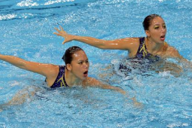 The Malaysian pair beat their Singapore counterparts to the gold medal.