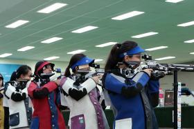 Womens 10m air rifle event