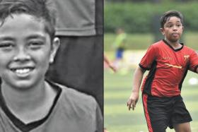 Ameer Ryyan, one of the Tanjong Katong Primary School students who died in the Sabah earthquake,  trained with Fandi Ahmad's F-17 Academy.