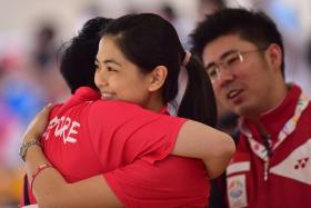 Daphne Tan nabbed Singapore's first bowling gold of the 28th SEA Games.