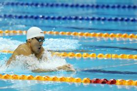 """I think it's a blessing that we are making waves and making history."" - Quah Zheng Wen (above)"
