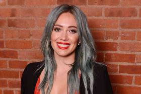 Singer Hilary Duff took to Dubsmash to promote her new songs My Kind and One In A Million.