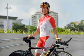 Singapore's Dinah Chan.