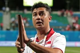 Aide Iskandar announced his resignation after Singapore were eliminated from the SEA Games football competition.