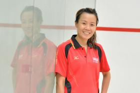 Veteran Joannah Yue, 38, who won silver and bronze in 1999 and 2001 Games respectively, is making a comeback to play at this year's SEA Games.