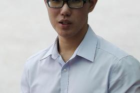 SENTENCED: Gan Wey Ian was sentenced to 15 months probation for recording upskirt videos and possessing obscene films.