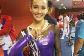 a facebook page has sprung up in support of gymnast Farah Ann.