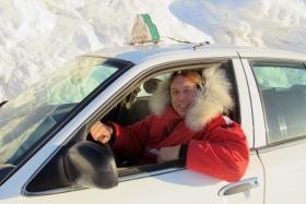 London cabbie Mason McQueen experienced what it is like to work as a taxi driver in places such as Iqaluit, Canada.