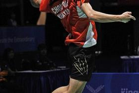 """""""I just head into every game wanting to win regardless of the opponent and I'm very happy to be in the final."""" - Malaysian shuttler Chong Wei Feng (above)"""