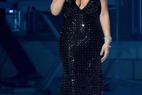 NEW CHAPTER: US pop diva Mariah Carey at the launch of her residency Mariah #1 To Infinity.