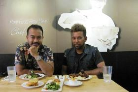 ROCKERS: Audionauts' Mazron 'Malon' Nizam Ayub (left) and Mohamed Rizal 'Ryzal' Mohamed Noor.